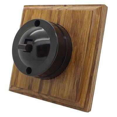 Vintage Bakelite  Bakelite | Medium Oak  Sockets & Switches