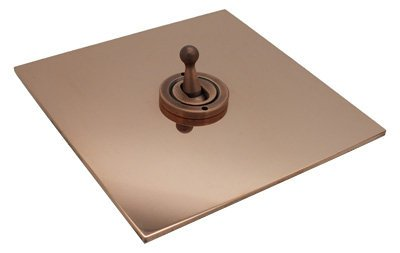 Natural Elements (Unlacquered Pure Copper) Polished Copper  Sockets & Switches