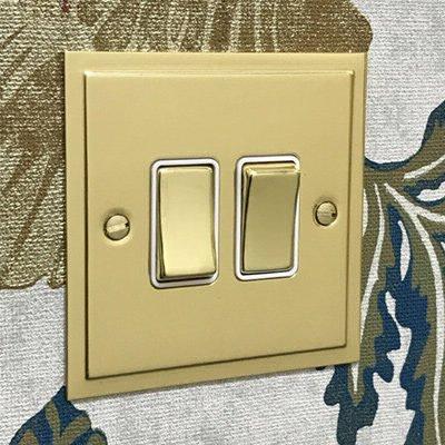 Elegance Elite Polished Brass  Sockets & Switches
