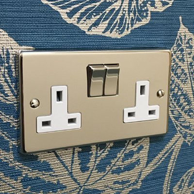 Grandura Polished Nickel  Sockets & Switches