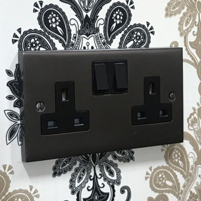 Edwardian Classic Bronze  Sockets & Switches