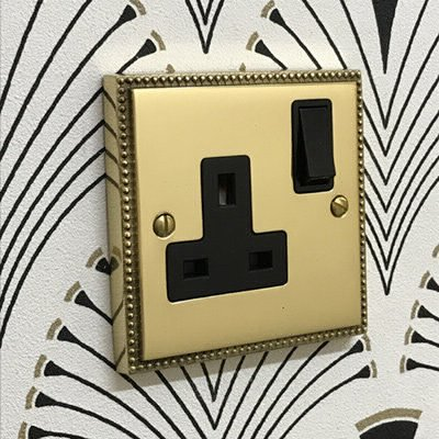 Regency Classic Polished Brass  Sockets & Switches