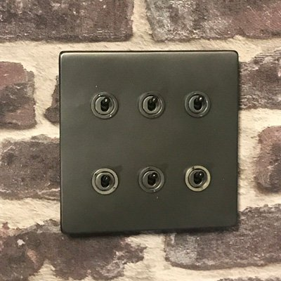 Screwless Supreme Old Bronze  Sockets & Switches