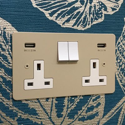 Seamless Colour Match  Sockets & Switches