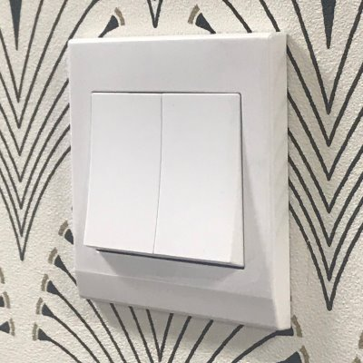 RetroTouch Simplicity White  Sockets & Switches