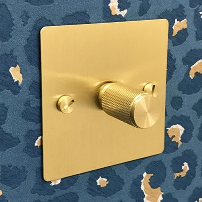 Studio Satin Brass  Sockets & Switches