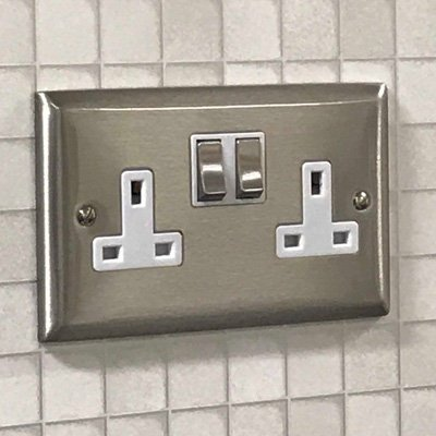 Vogue Satin Stainless  Sockets & Switches
